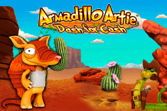 logo armadillo artie novomatic slot game