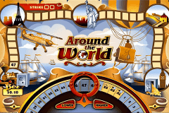 logo around the world microgaming slot game
