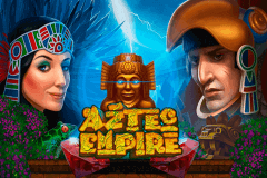 logo aztec empire playson slot game