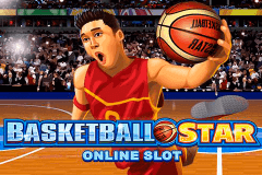 logo basketball star microgaming slot game