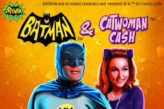 logo batman catwoman cash playtech slot game