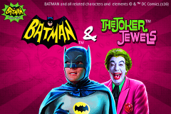 logo batman the joker jewels playtech slot game