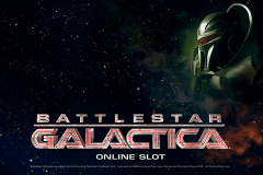 logo battlestar galactica microgaming slot game