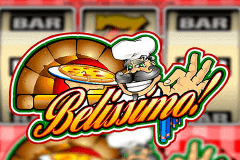 logo belissimo microgaming slot game
