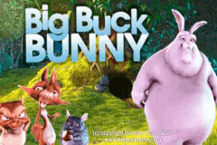 logo big buck bunny merkur slot game