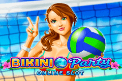 logo bikini party microgaming slot game