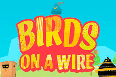 logo birds on a wire thunderkick slot game