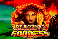 logo blazing goddess lightning box slot game