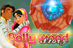 logo bollywood story netent slot game