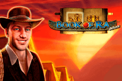 logo book of ra deluxe novomatic slot game