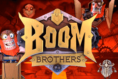 logo boom brothers netent slot game