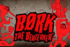 logo bork the berzerker thunderkick slot game