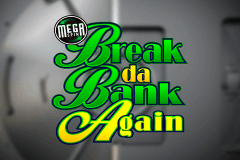 logo break da bank again megaspin microgaming slot game