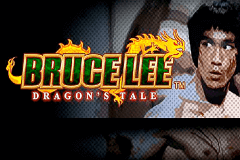 logo bruce lee dragons tale wms slot game