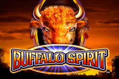 logo buffalo spirit wms slot game