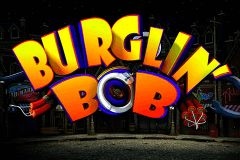 logo burglin bob microgaming slot game