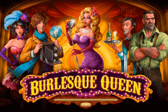 logo burlesque queen playson