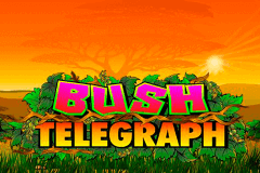 logo bush telegraph microgaming slot game