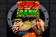 logo bust the bank microgaming slot game