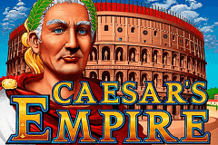 logo caesars empire rtg slot game