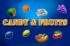 logo candy and fruits merkur slot game