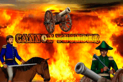 logo cannon thunder merkur slot game