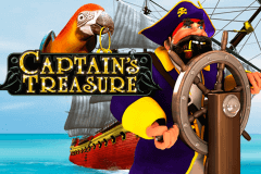 logo captains treasure playtech slot game