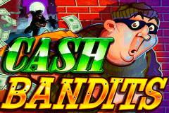 logo cash bandits rtg slot game