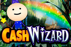 logo cash wizard bally slot game