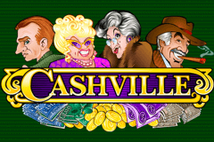 logo cashville microgaming slot game