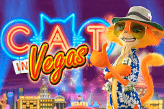 logo cat in vegas playtech slot game