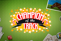 logo champion of the track netent slot game