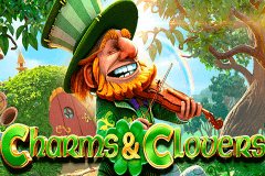 logo charms clovers betsoft slot game
