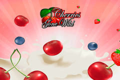 logo cherries gone wild microgaming slot game