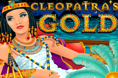 logo cleopatras gold rtg slot game