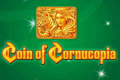 logo coin of cornucopia merkur slot game
