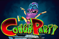 logo conga party microgaming slot game
