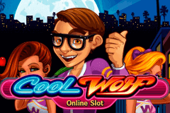 logo cool wolf microgaming slot game