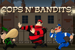 logo cops n bandits playtech slot game