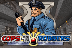 logo cops n robbers playn go slot game
