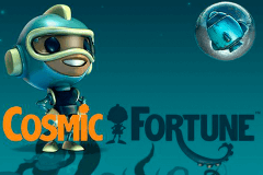 logo cosmic fortune netent slot game