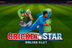 logo cricket star microgaming slot game