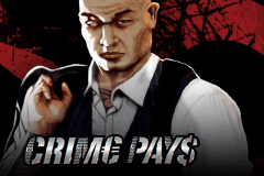 logo crime pays wms slot game