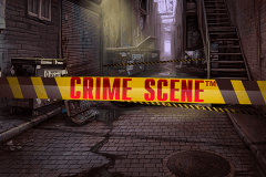logo crime scene netent slot game