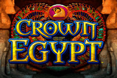 logo crown of egypt igt slot game