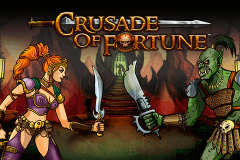 logo crusade of fortune netent slot game