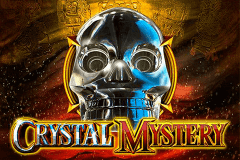 logo crystal mystery gameart slot game