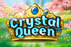 logo crystal queen quickspin slot game