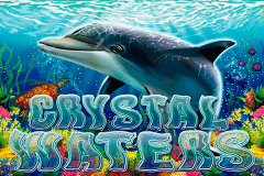 logo crystal waters rtg slot game