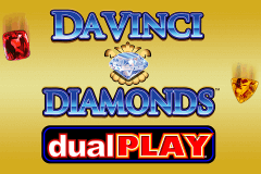 logo da vinci diamond dual play igt slot game